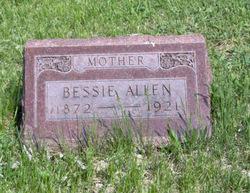 Bessie-Lucinda Perry Adaline <i>Goldsmith</i> Allen