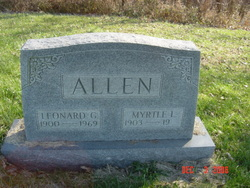 Myrtle Lee <i>Dodson</i> Allen