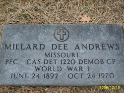 Millard Dee Andrews, Sr