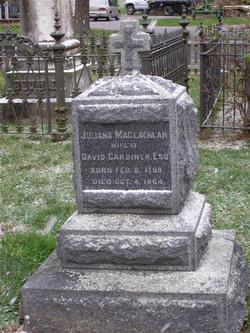 Juliana <i>MacLachlan</i> Gardiner