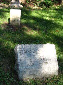 Lydia Ann <i>Davis</i> Mendenhall