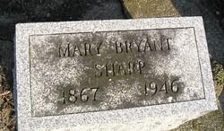 Mary <i>Bryant</i> Sharp