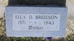 Ella Delilah Nellie <i>Manville</i> Brideson