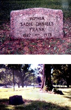 Sadie Ollie <i>Daniels</i> Frank