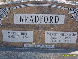 Mary Ethel <i>Parker</i> Bradford