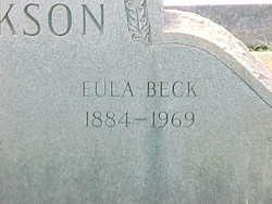 Eula <i>Beck</i> Jackson