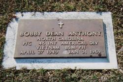PFC Bobby Dean Anthony