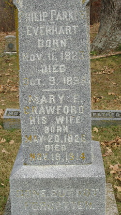 Mary Elizabeth <i>Crawford</i> Everhart