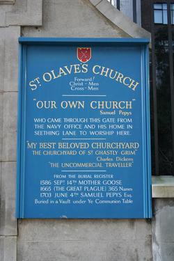 St Olave Hart Street Churchyard