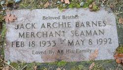 Jack Archie Barnes