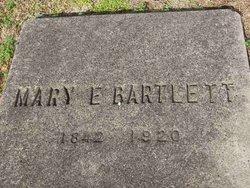 Mary E. <i>Weaver</i> Bartlett