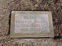 Rhoada Martha <i>Wall</i> Weddel