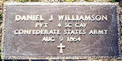 Pvt Daniel Jesse Williamson
