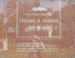 Thelma R. Bremer