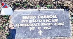Pvt Moses Carroll