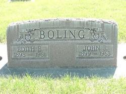 Edith Emiline <i>Hunter</i> Boling