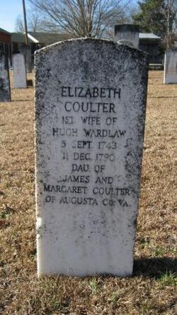Elizabeth <i>Coulter</i> Wardlaw