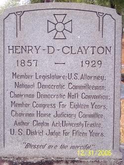 Henry De Lamar Clayton