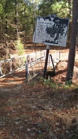 Long Cane Creek Indian Massacre Memorial Gravesite