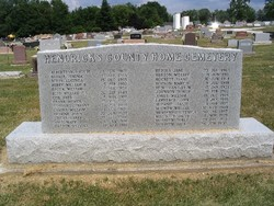 Hendricks County Home Cemetery (Defunct)