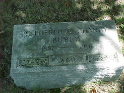 Rutherford Chancy Burch
