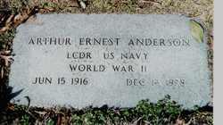 Arthur Ernest Anderson