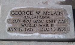 George Walter McLain