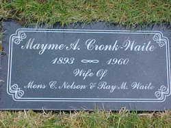 Mayme A <i>Cronk</i> Waite