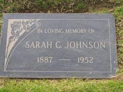 Sarah Christina <i>Engvall</i> Johnson