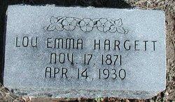Lou Emma <i>Stanford</i> Hargett