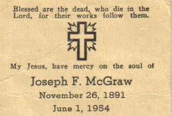 Joseph Francis McGraw