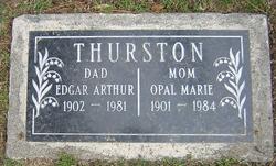 Opal Marie <i>Starner</i> Thurston