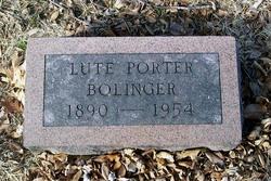 Lute Porter Bolinger