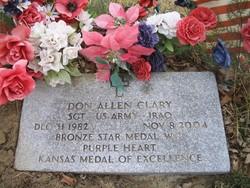 Sgt Don Allen Clary