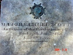 Maj Samuel Scott
