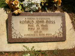 Ronald John Moss