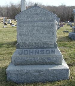 Catherine J <i>Cornell</i> Johnson