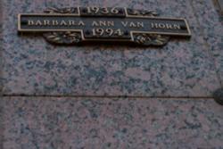 Barbara Ann Van Horn