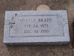 Myrtle <i>Peavler</i> Brady