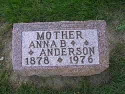 Anna Belle <i>Denham</i> Anderson