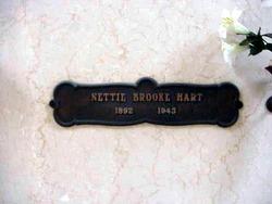 Anntonette E. Nettie <i>Brooke</i> Hart