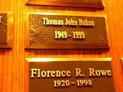 Thomas John Bakos