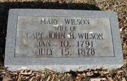 Mary <i>Welch</i> Wilson