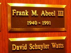 Frank M. Abeel, III