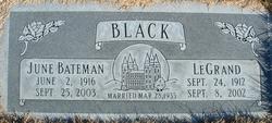 June <i>Bateman</i> Black
