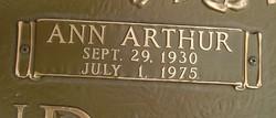 Ann Arthur <i>Cullom</i> Almond
