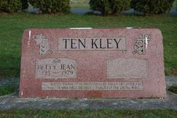 Betty Jean <i>Kiel</i> Ten Kley