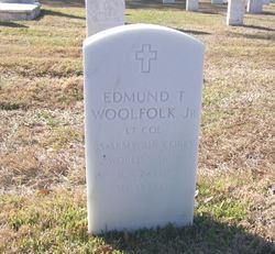 Edmund T Woolfolk, Jr