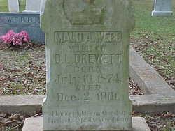 Maude Amanda <i>Webb</i> Drewett