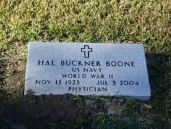 Dr Hal Buckner Boone